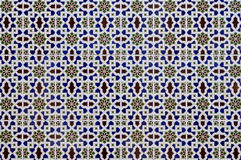 Configurations islamiques de porcelaine Photo stock