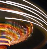 Configurations légères de carnaval photographie stock