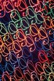 Configurations rayées de lumière de freezelight photographie stock