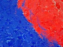 Configurations rouges et bleues dans un regroupement images libres de droits