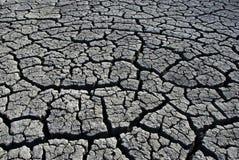 Configurations sèches de boue de bas de lac images stock