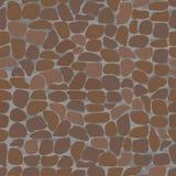 Configurations sans joint avec des pierres. Image libre de droits