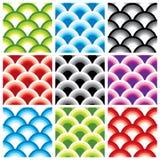 Configurations sans joint géométriques Images libres de droits