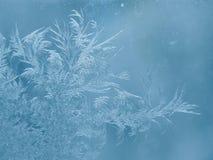 Configurations sur la glace photographie stock libre de droits