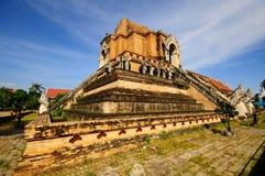 Configurazione antica della pagoda dal mattone Immagini Stock Libere da Diritti