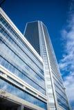Configurazione del grattacielo di vetro e di calcestruzzo Immagine Stock Libera da Diritti