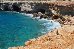Confinato dal mar Mediterraneo Fotografie Stock Libere da Diritti