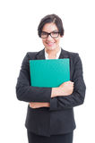 Confindent young female business manager Stock Image
