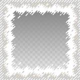 Confine astratto per l'immagine quadrata Conclusioni arrotondate Fotografia Stock Libera da Diritti