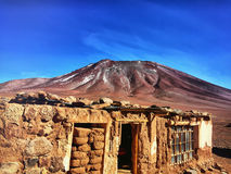 Confine boliviano fotografie stock libere da diritti