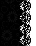 Confine decorativo black-white_3 Immagini Stock