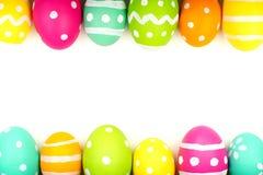 Confine del bordo del doppio dell'uovo di Pasqua Immagine Stock