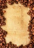 Confine del caffè Fotografia Stock