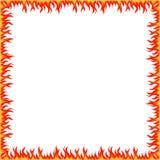 Confine del fuoco Fotografia Stock