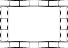 Confine del modello della striscia di pellicola, struttura del cinema, vettore Fotografia Stock Libera da Diritti