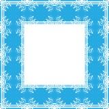 Confine delicato blu illustrazione vettoriale