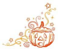 Confine di Halloween Immagine Stock Libera da Diritti