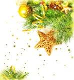Confine di Natale Fotografie Stock Libere da Diritti