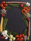 Confine di verdure fotografie stock libere da diritti