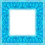Confine fine blu royalty illustrazione gratis