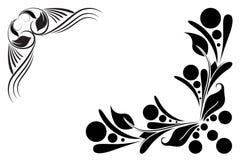 Confine floreale illustrazione di stock