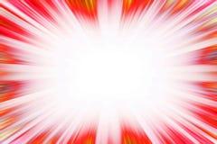 Confine rosso di esplosione dello starburst Fotografie Stock Libere da Diritti