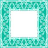 Confine senza cuciture blu illustrazione vettoriale