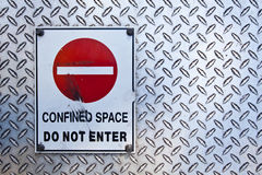 Confined Space Stock Images