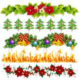 Confini decorativi della pagina Fotografia Stock Libera da Diritti