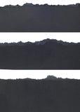 Confini di carta lacerati Fotografia Stock