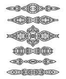 Confini di Deco Pelliccia Dalmatian illustrazione vettoriale