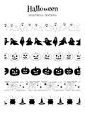 Confini di Halloween Fotografie Stock