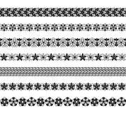 Confini floreali Immagine Stock Libera da Diritti