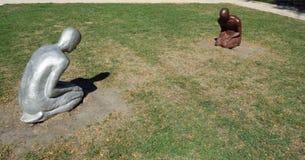 Confini in Grant Park, Chicago del centro Immagine Stock Libera da Diritti