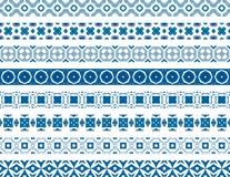 Confini portoghesi Fotografia Stock