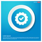 Confirm icon. This Vector EPS 10 illustration is best for print media, web design, application design user interface and infographics with well composed royalty free illustration