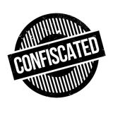 Confiscated rubber stamp Royalty Free Stock Images