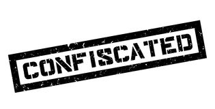 Confiscated rubber stamp Royalty Free Stock Photography