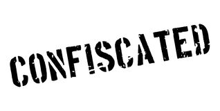 Confiscated rubber stamp Stock Image