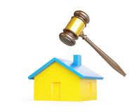 Confiscation of homes, seizure Stock Photo