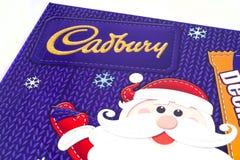 Confiserie de Noël de Cadbury Image stock