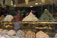 Confiserie et nourritures à Istanbul, Turquie Photo stock