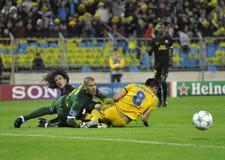 CONFIT Borisov - FC Barcelone de FC Photo stock