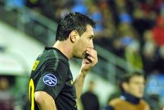 CONFIT du match de football FC - FC Barcelone Image stock