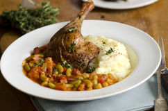 Confit duck Royalty Free Stock Image