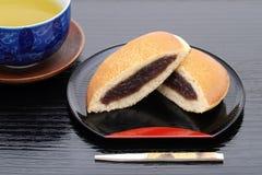 Confitería japonesa, Dorayaki foto de archivo libre de regalías
