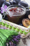 Confiture Photographie stock