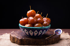 Confiture chinoise de pommes Photo stock