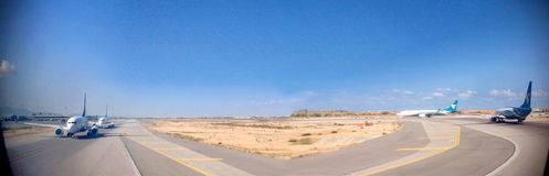 Confiture d'aéroport chez Muscat Photographie stock
