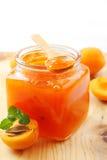 Confiture d'abricot Image libre de droits